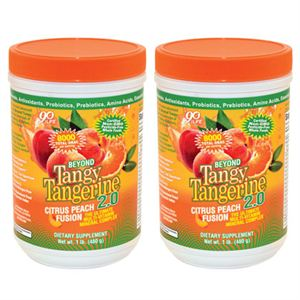 Picture of BTT 2.0 CITRUS PEACH FUSION 480 G CANISTER - TWIN PACK