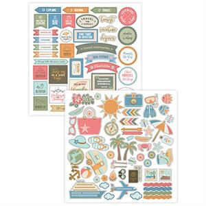 Picture of Vacation Memories Stackable Stickers