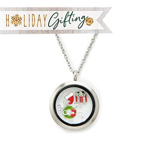 Picture of Holly Jolly Locket