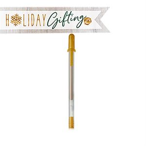 Picture of Gold Gelly Pen